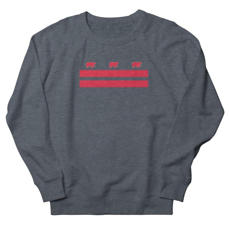 DC Bear Flag Men's French Terry Sweatshirt by Black Bear Apparel
