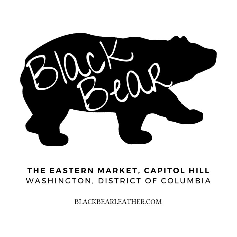 Eastern Market, Capitol Hill Men's T-Shirt by Black Bear Apparel