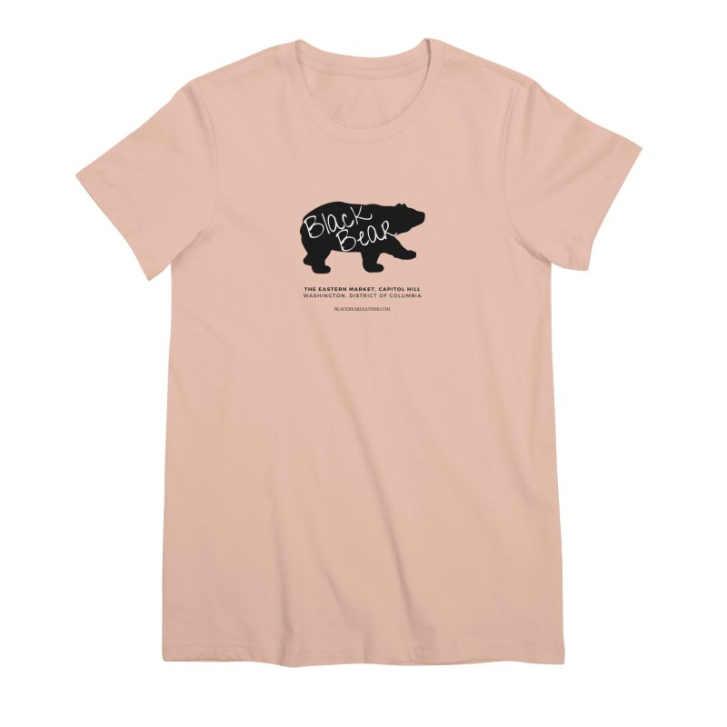 Eastern Market, Capitol Hill Women's Premium T-Shirt by Black Bear Apparel