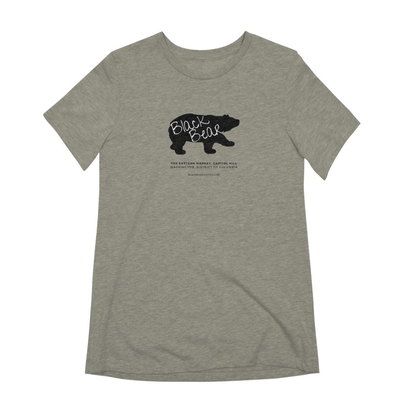Eastern Market, Capitol Hill Women's Extra Soft T-Shirt by Black Bear Apparel
