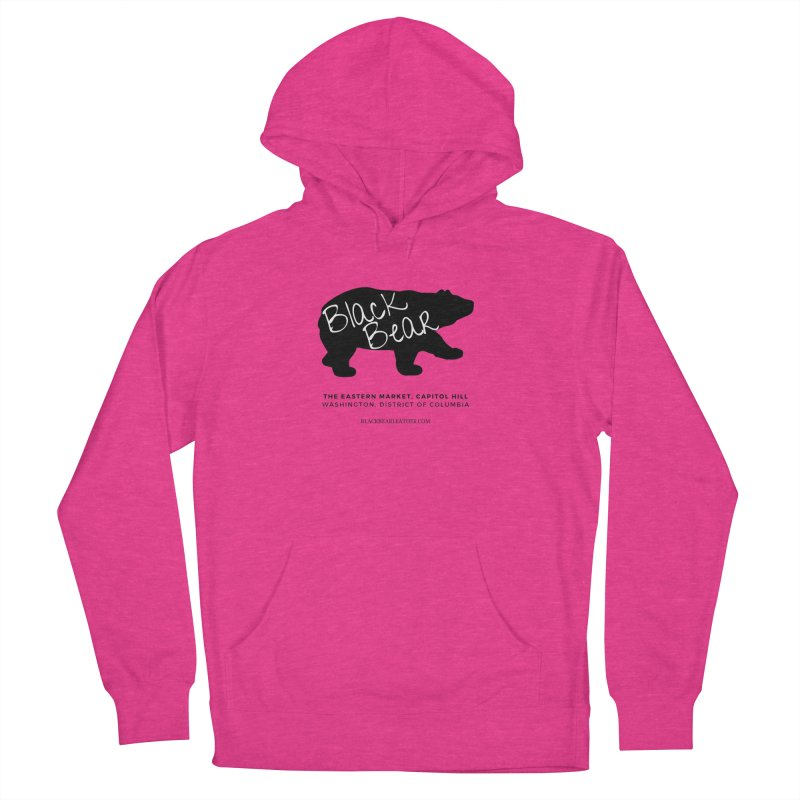 Eastern Market, Capitol Hill Men's French Terry Pullover Hoody by Black Bear Apparel