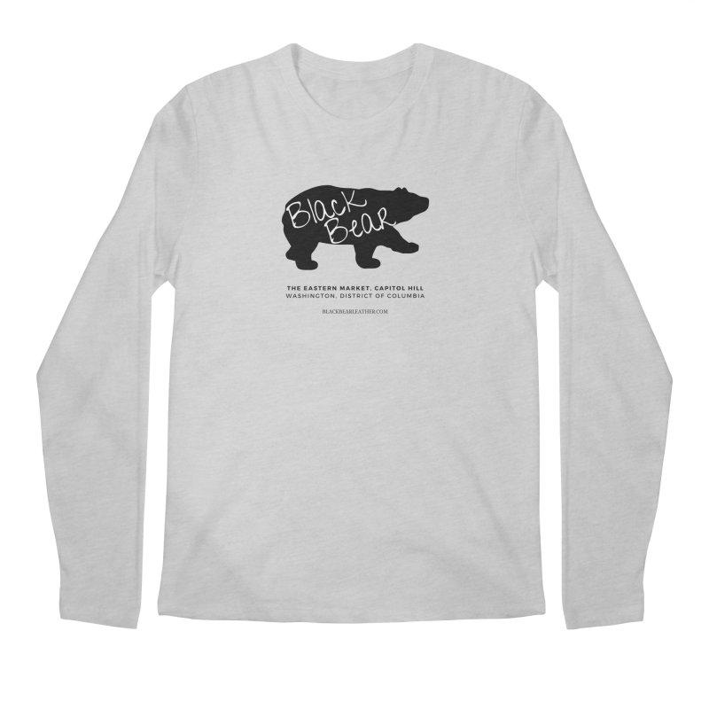 Eastern Market, Capitol Hill Men's Regular Longsleeve T-Shirt by Black Bear Apparel