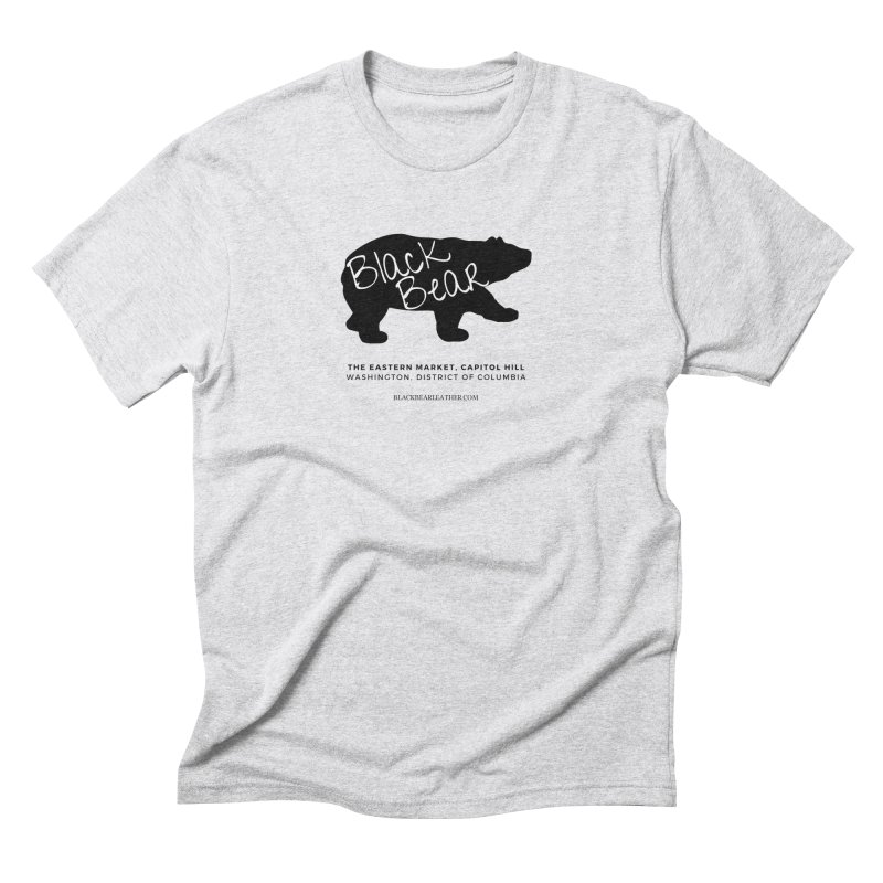 Eastern Market, Capitol Hill Men's Triblend T-Shirt by Black Bear Apparel