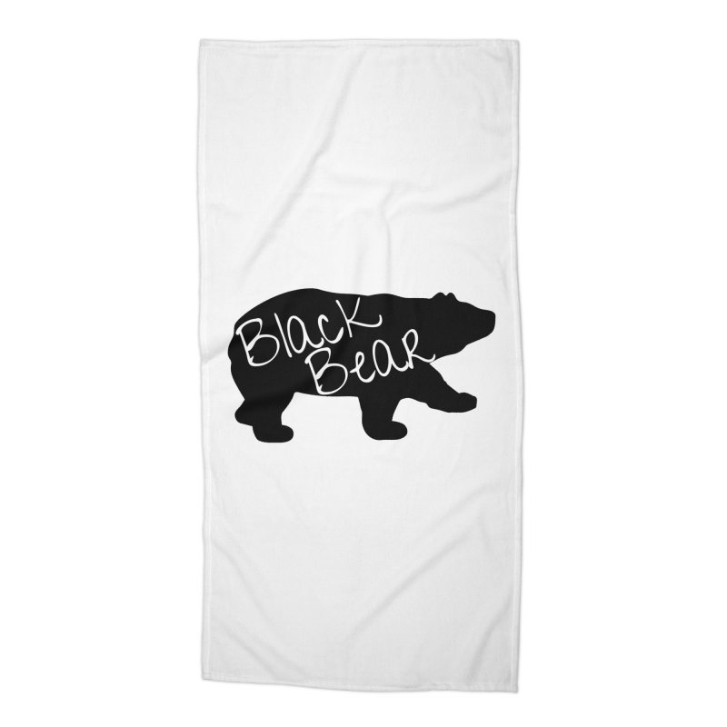 Black Bear Insider Accessories Beach Towel by Black Bear Apparel