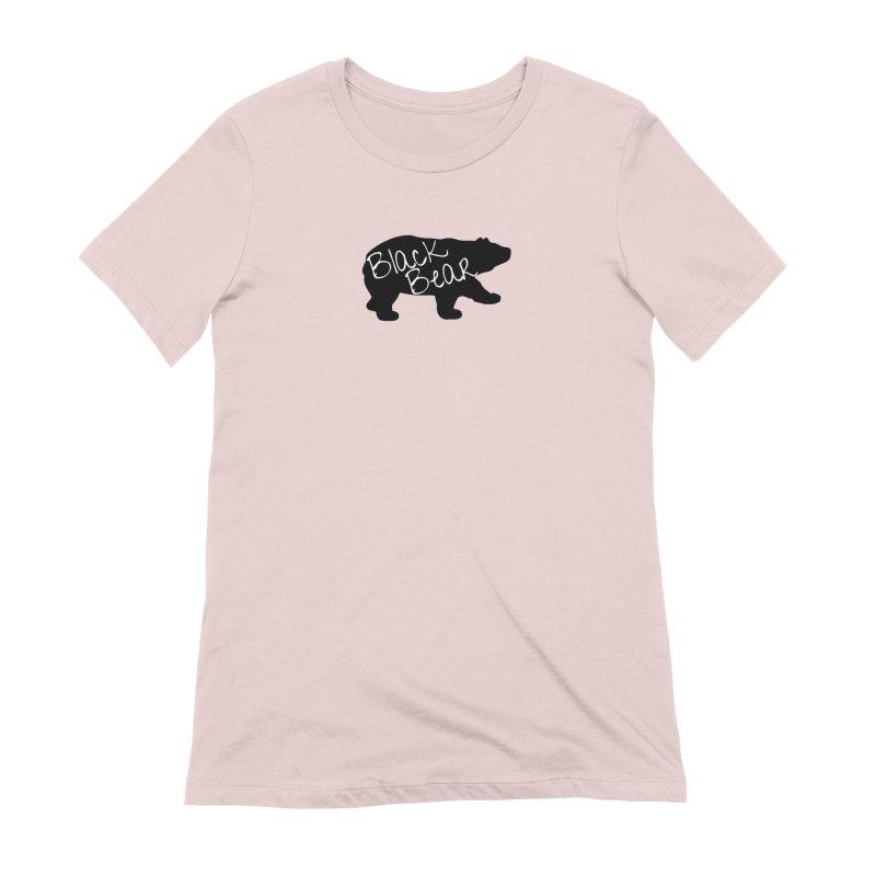 Black Bear Insider Women's Extra Soft T-Shirt by Black Bear Apparel