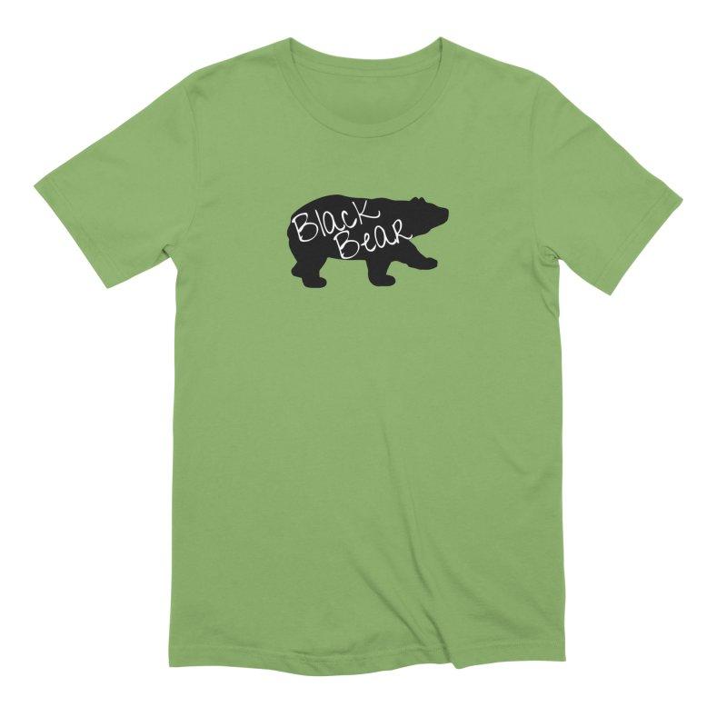 Black Bear Insider Men's Extra Soft T-Shirt by Black Bear Apparel