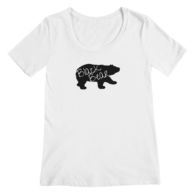 Black Bear Insider Women's Regular Scoop Neck by Black Bear Apparel