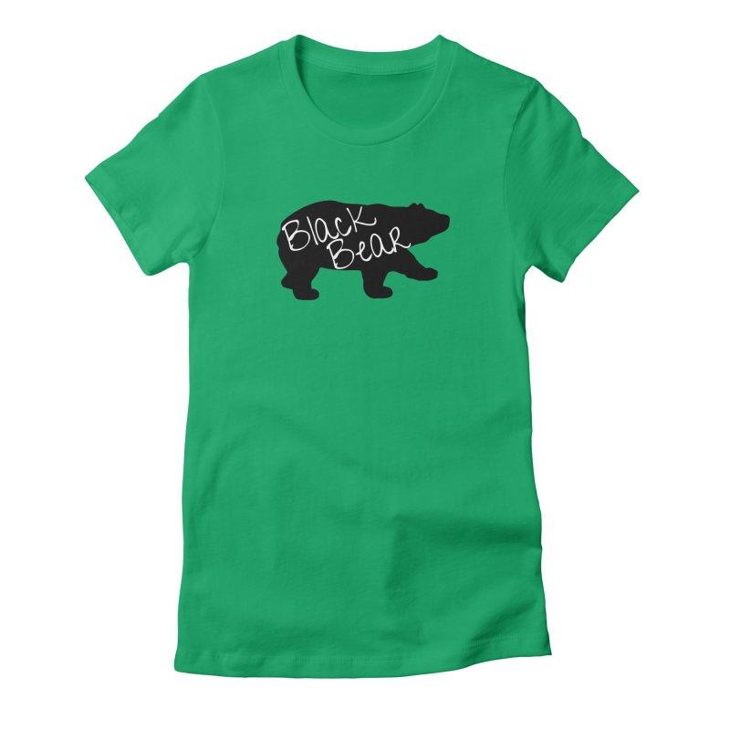 Black Bear Insider Women's Fitted T-Shirt by Black Bear Apparel