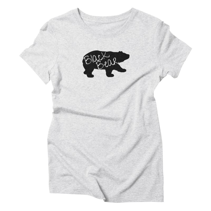Black Bear Insider Women's Triblend T-Shirt by Black Bear Apparel