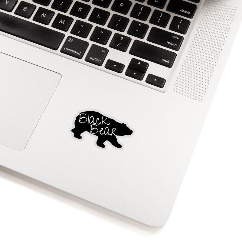 Black Bear Insider Accessories Sticker by Black Bear Apparel