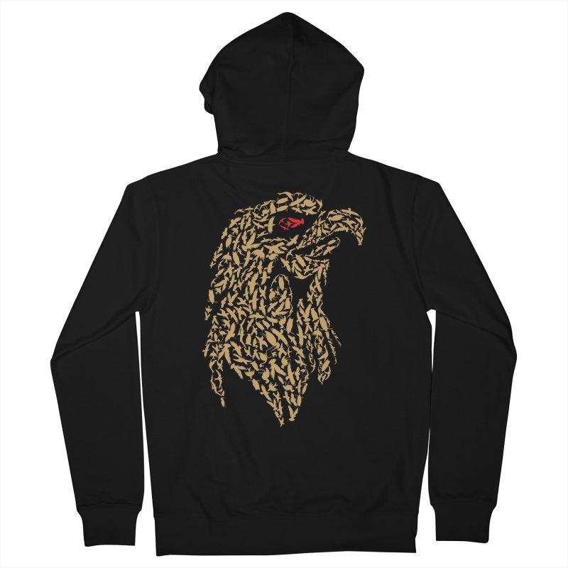 King Of Birds Men's Zip-Up Hoody by blackboxshop's Artist Shop