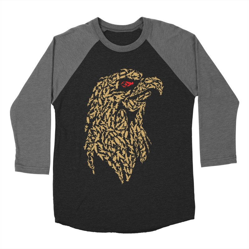 King Of Birds Men's Baseball Triblend T-Shirt by blackboxshop's Artist Shop
