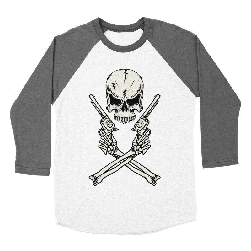 COLT 45 CROSSBONES Men's Baseball Triblend T-Shirt by blackboxshop's Artist Shop