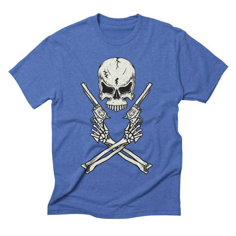 COLT 45 CROSSBONES Men's Triblend T-shirt by blackboxshop's Artist Shop