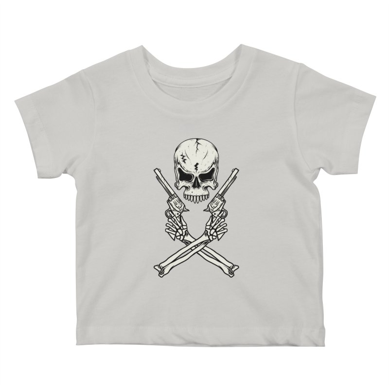 COLT 45 CROSSBONES Kids Baby T-Shirt by blackboxshop's Artist Shop