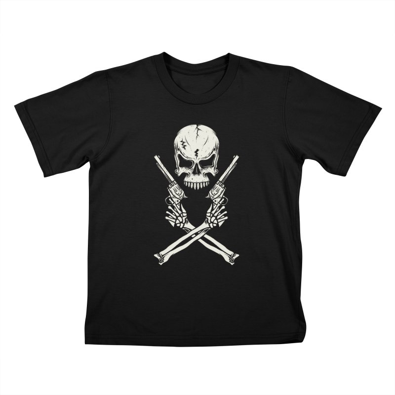 COLT 45 CROSSBONES Kids T-shirt by blackboxshop's Artist Shop