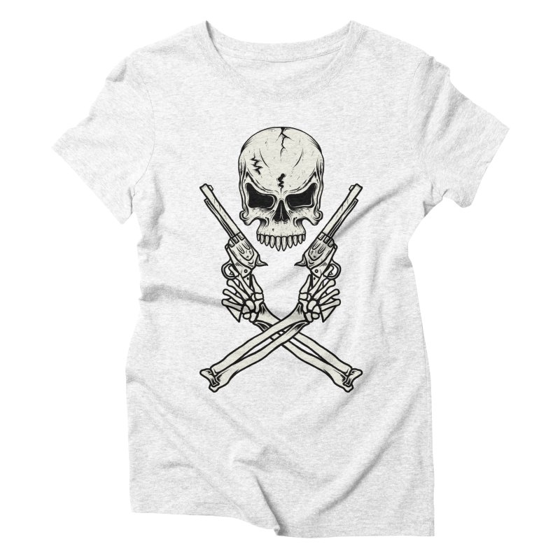 COLT 45 CROSSBONES Women's Triblend T-shirt by blackboxshop's Artist Shop