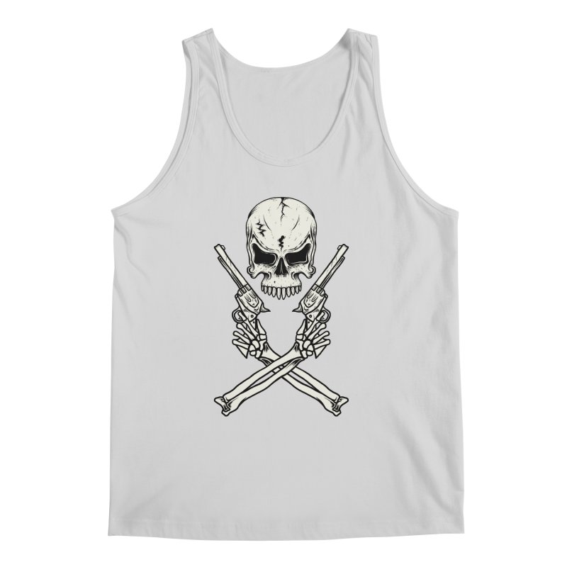COLT 45 CROSSBONES Men's Tank by blackboxshop's Artist Shop