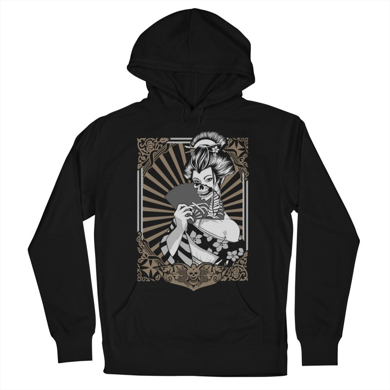 Zombie Geisha  Men's Pullover Hoody by blackboxshop's Artist Shop