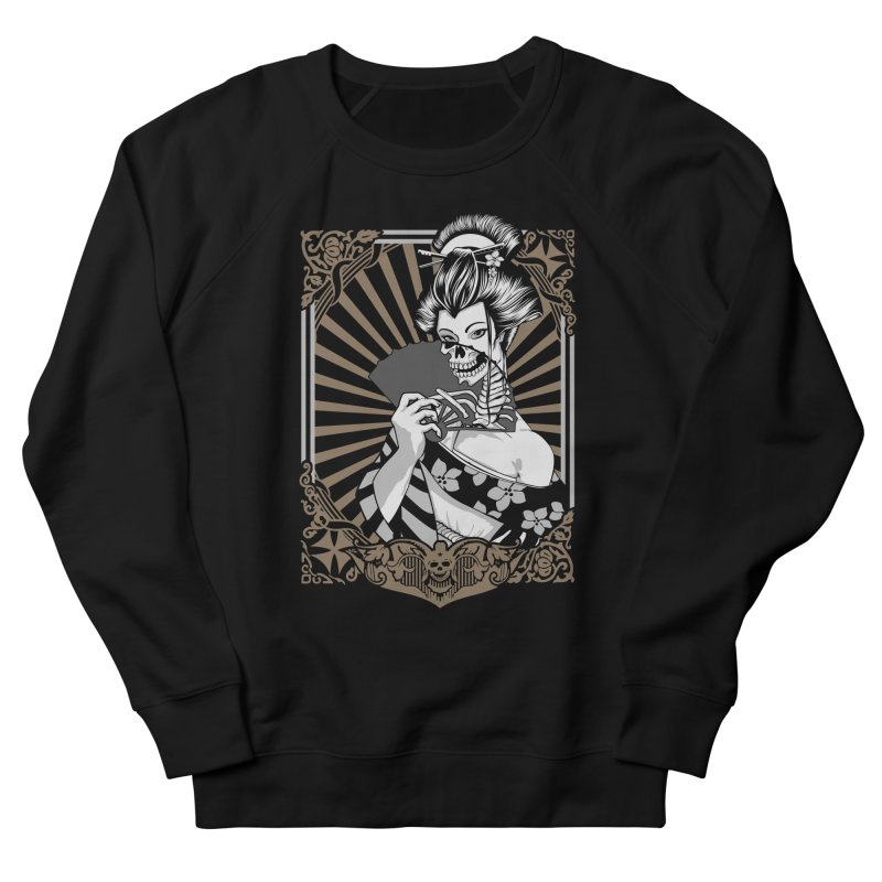 Zombie Geisha  Women's Sweatshirt by blackboxshop's Artist Shop