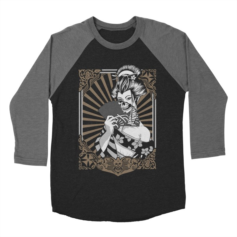 Zombie Geisha  Women's Baseball Triblend T-Shirt by blackboxshop's Artist Shop