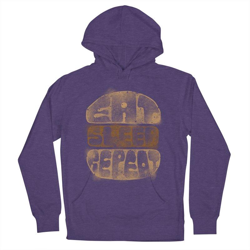 Eat Sleep Repeat  Women's Pullover Hoody by blackboxshop's Artist Shop