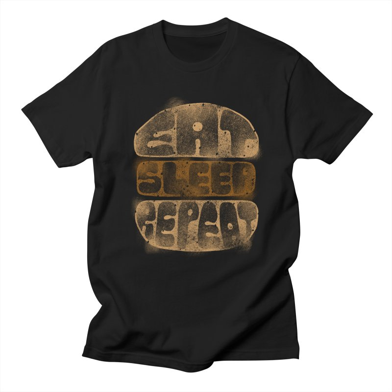 Eat Sleep Repeat  Men's T-Shirt by blackboxshop's Artist Shop