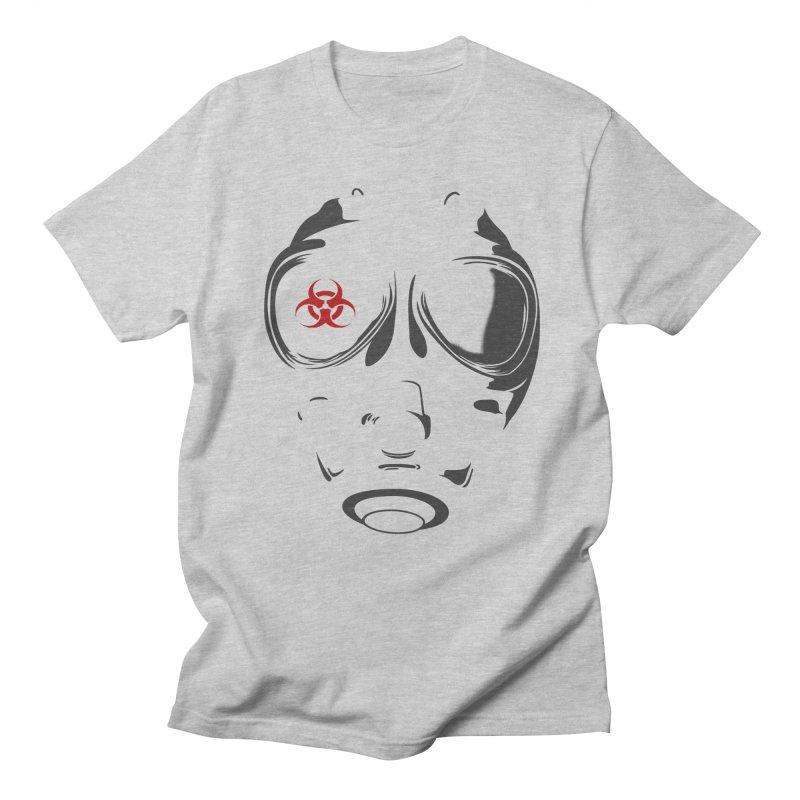 Gas mask Men's T-Shirt by blackboxshop's Artist Shop
