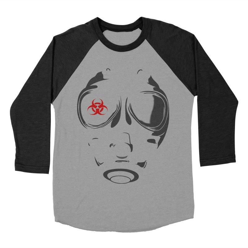 Gas mask Women's Baseball Triblend T-Shirt by blackboxshop's Artist Shop