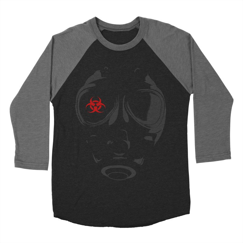 Gas mask Men's Baseball Triblend T-Shirt by blackboxshop's Artist Shop