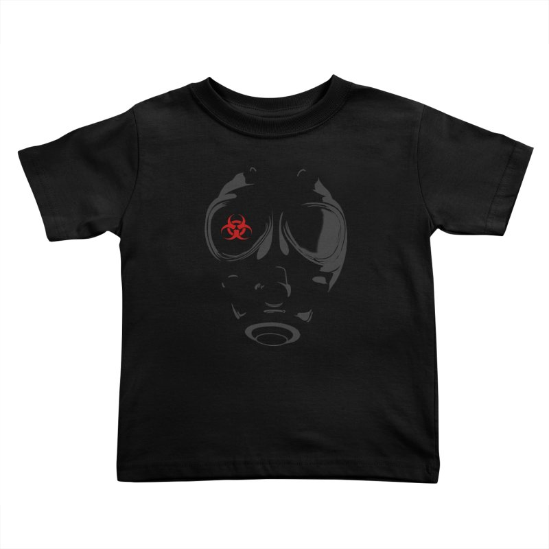 Gas mask Kids Toddler T-Shirt by blackboxshop's Artist Shop