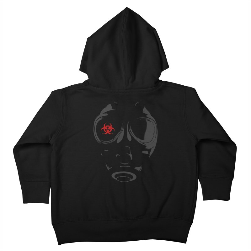 Gas mask Kids Toddler Zip-Up Hoody by blackboxshop's Artist Shop