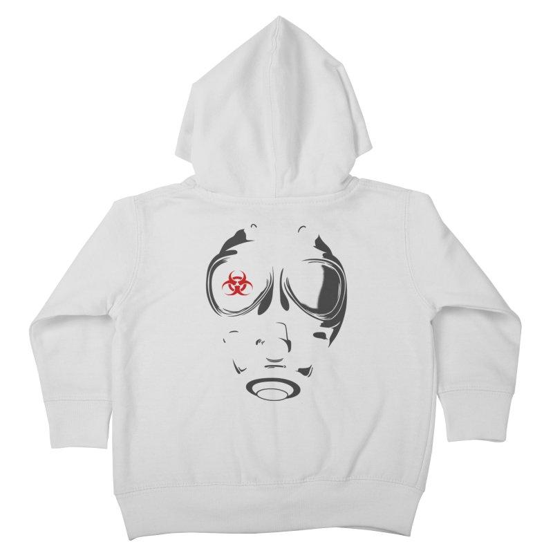 Gas mask Kids Toddler Zip-Up Hoody by blackboxshop's Artist Shop
