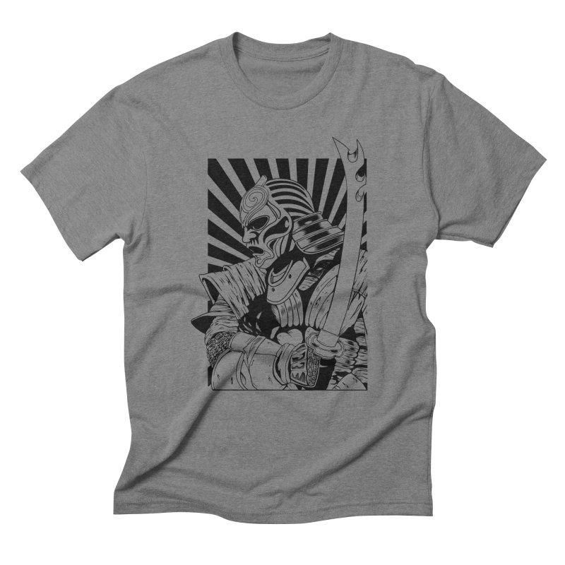 Ronin Samurai Men's Triblend T-Shirt by blackboxshop's Artist Shop