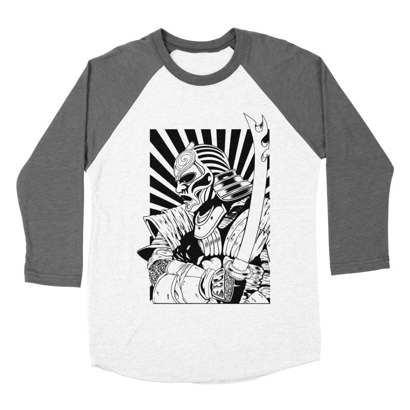 Ronin Samurai Men's Baseball Triblend T-Shirt by blackboxshop's Artist Shop