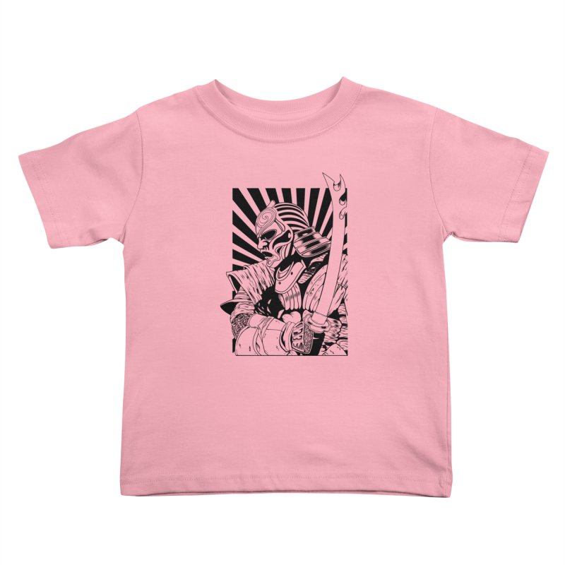 Ronin Samurai Kids Toddler T-Shirt by blackboxshop's Artist Shop