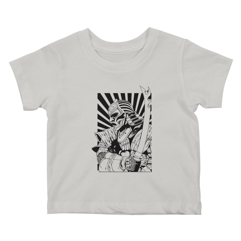 Ronin Samurai Kids Baby T-Shirt by blackboxshop's Artist Shop