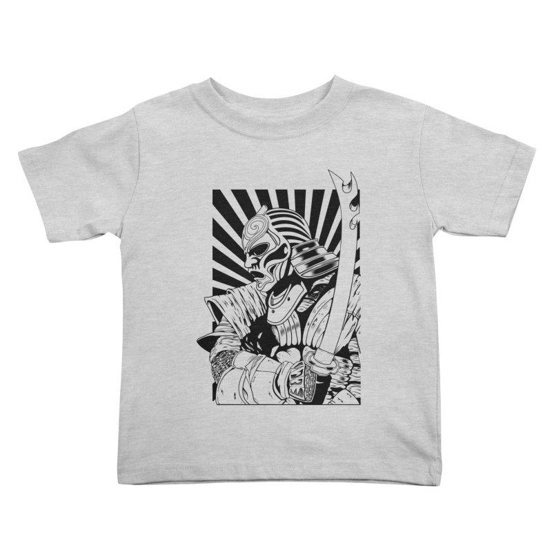 Ronin Samurai Kids Toddler T-Shirt by blackboxshop's Artist Shop