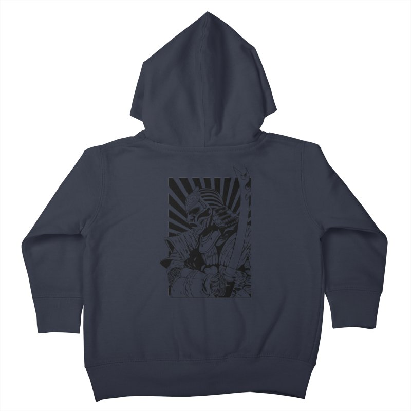 Ronin Samurai Kids Toddler Zip-Up Hoody by blackboxshop's Artist Shop