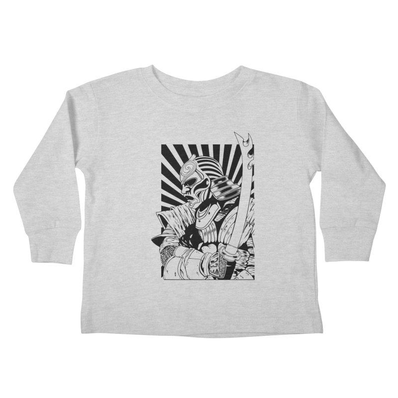 Ronin Samurai Kids Toddler Longsleeve T-Shirt by blackboxshop's Artist Shop