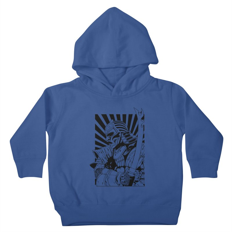 Ronin Samurai Kids Toddler Pullover Hoody by blackboxshop's Artist Shop