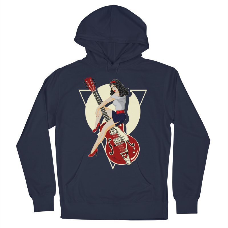 Queen Rock & roll Women's Pullover Hoody by blackboxshop's Artist Shop