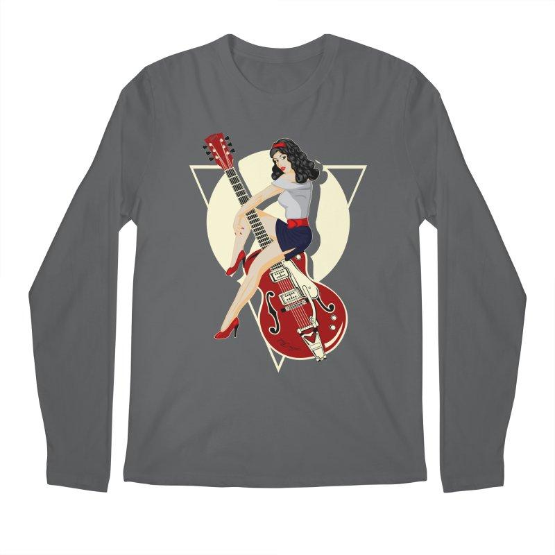 Queen Rock & roll Men's Longsleeve T-Shirt by blackboxshop's Artist Shop
