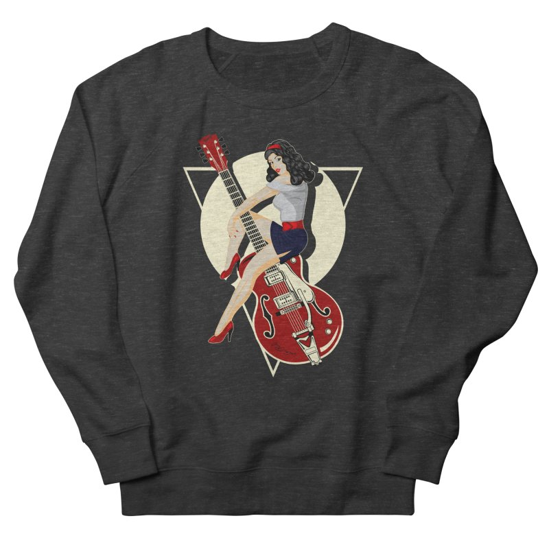 Queen Rock & roll Women's Sweatshirt by blackboxshop's Artist Shop
