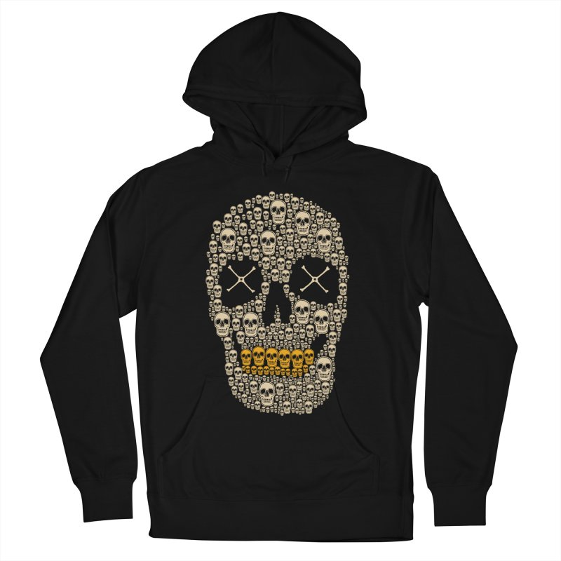 Gold Digger Skeleton Women's Pullover Hoody by blackboxshop's Artist Shop