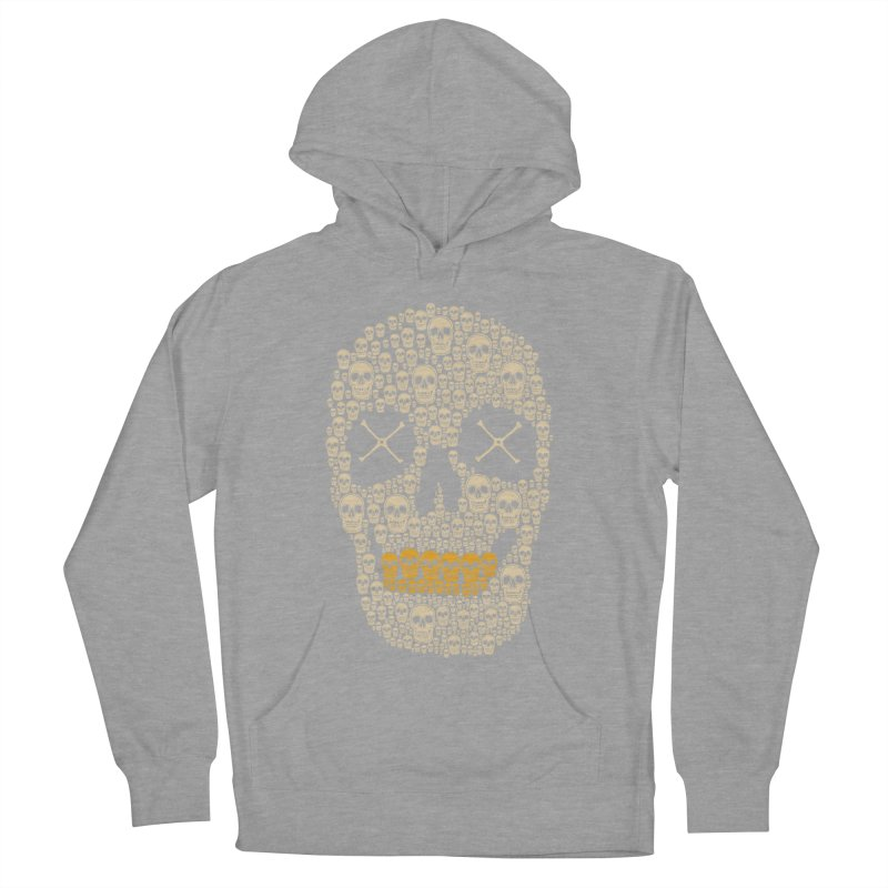 Gold Digger Skeleton Men's Pullover Hoody by blackboxshop's Artist Shop