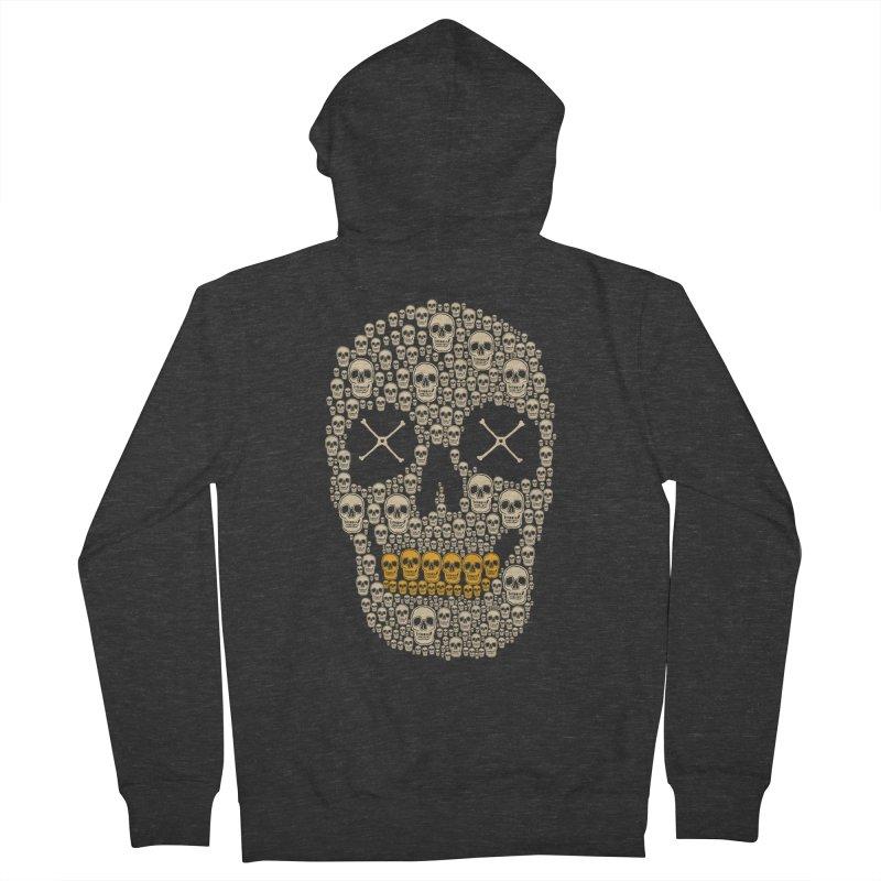 Gold Digger Skeleton Women's Zip-Up Hoody by blackboxshop's Artist Shop