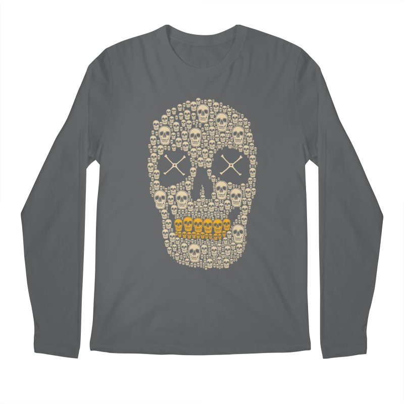 Gold Digger Skeleton Men's Longsleeve T-Shirt by blackboxshop's Artist Shop