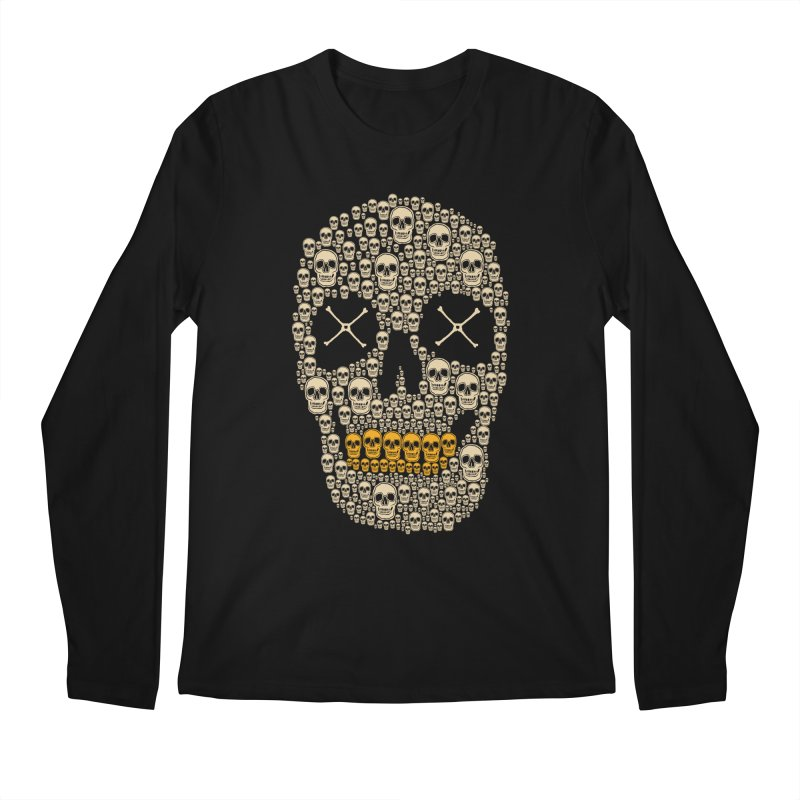 Gold Digger Skeleton Men's Longsleeve T-Shirt by blackboxshop's Artist Shop