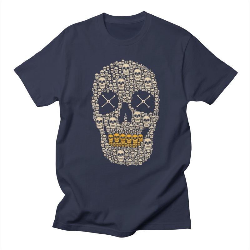 Gold Digger Skeleton Men's T-Shirt by blackboxshop's Artist Shop